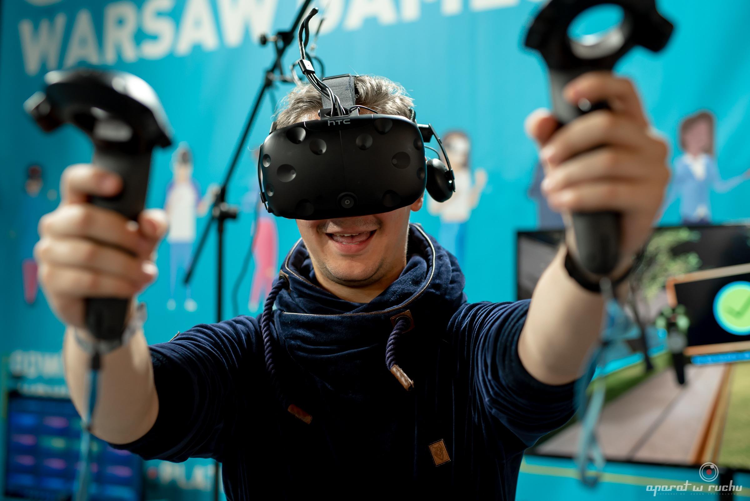 Gogle VR na imprezę, event, targi