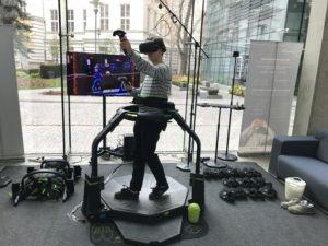 Virtuix Omni wynajem - atrakcje VR na event