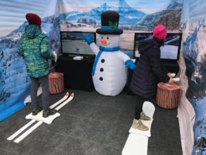 Symulator nart i snowboardu do wynajęcia