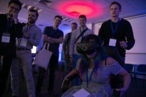 Symulator kolejki górskiej VR na wynajem na event