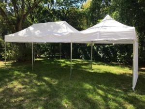 Namiot ekspresowy biały do wynajęcia na komunię, imprezę, event
