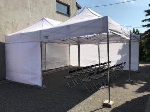 Wypożyczalnia namiotów ekspresowych Warszawa